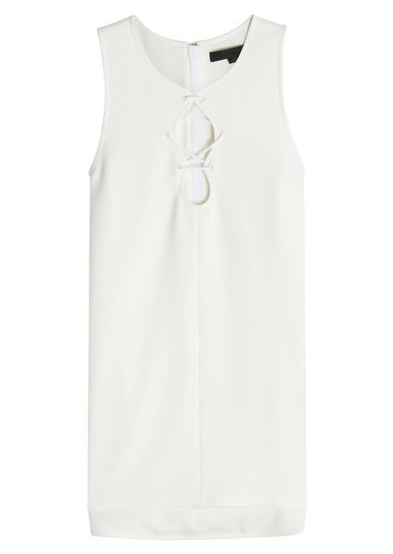 Alexander Wang Tank Top with Lace Up Detail