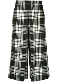 Alexander Wang tartan cropped trousers