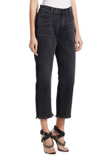 Alexander Wang Terry Cropped Jeans