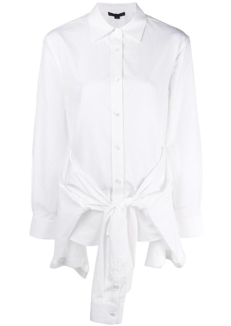 Alexander Wang tie waist detail shirt