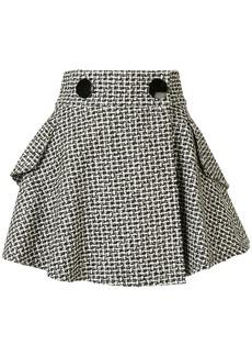 Alexander Wang tweed flared skirt