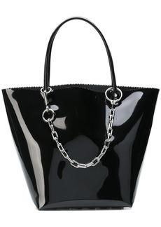Alexander Wang vinyl shopper bag