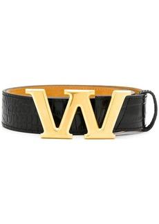 Alexander Wang W buckle belt