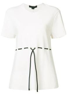 Alexander Wang waist-tie top