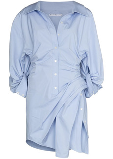 Alexander Wang Athena asymmetric shirtdress