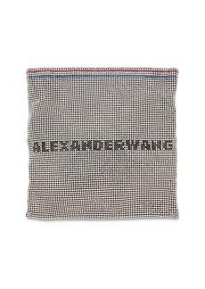 Alexander Wang Wang Lock Logo Mesh Pouch