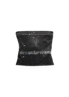 Alexander Wang Wangloc Glass Crystal Pouch