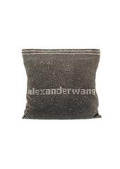 Alexander Wang Wanglock Pouch Rhinestone Logo Clutch Bag