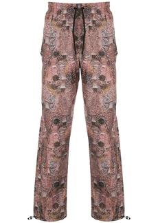 Alexander Wang watch print track pants