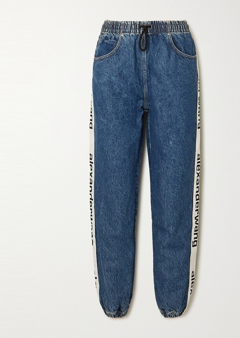 Alexander Wang Webbing-trimmed Jeans