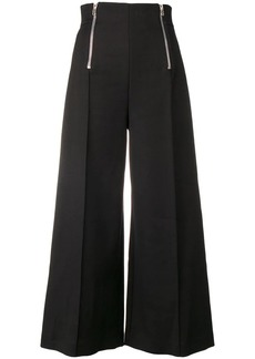 Alexander Wang wide leg high-waisted trousers
