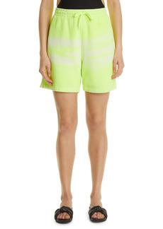Women's Alexander Wang Unisex Garment Dye Cotton Sweat Shorts