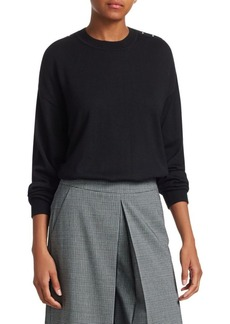 Alexander Wang Wool & Silk Pullover Sweater