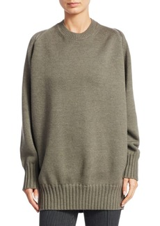 Alexander Wang Wool Zip Shoulder Sweater