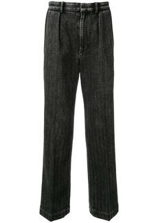 Alexander Wang zigzag pattern trousers