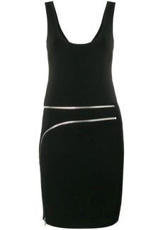 Alexander Wang zip detail dress