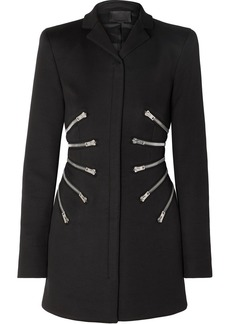 Alexander Wang Zip-detailed Twill Jacket