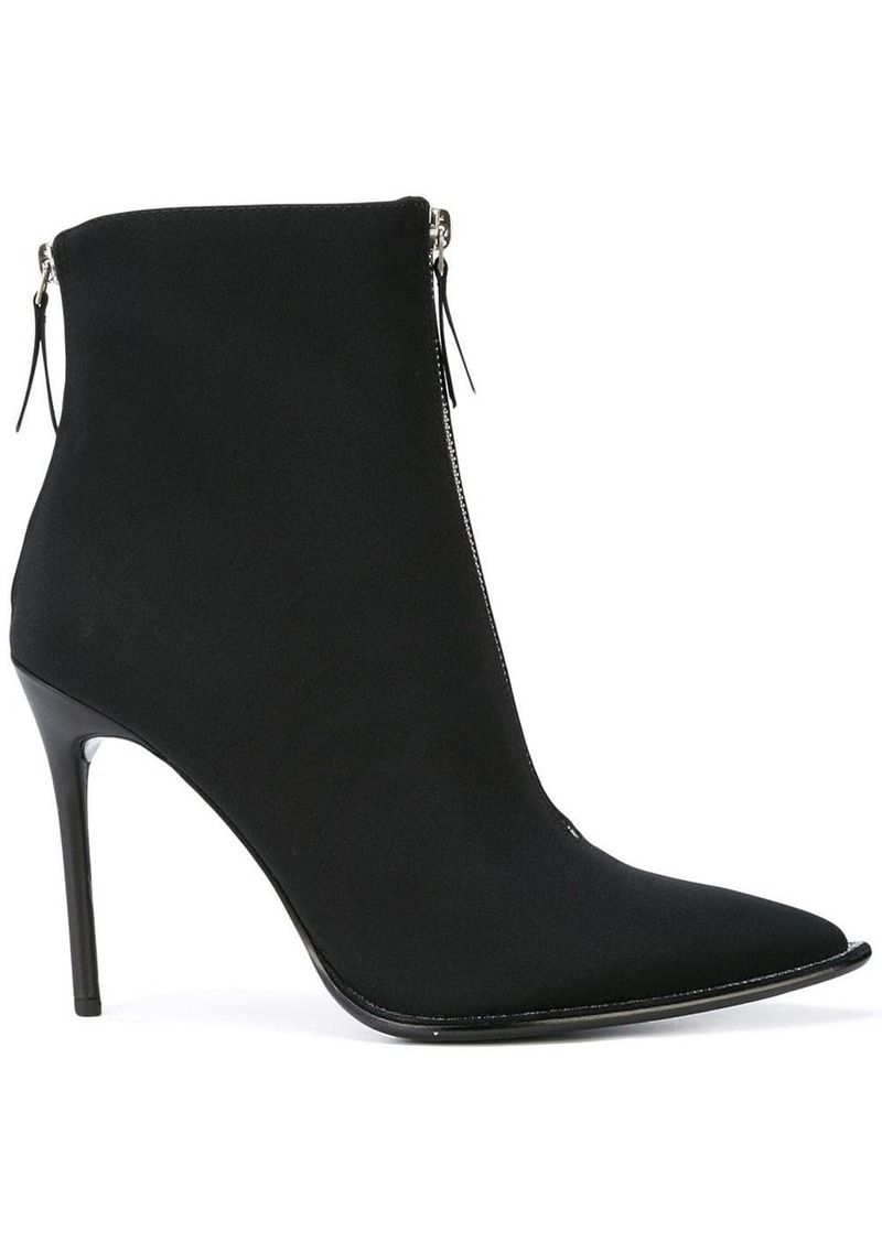 Alexander Wang zip front ankle boots