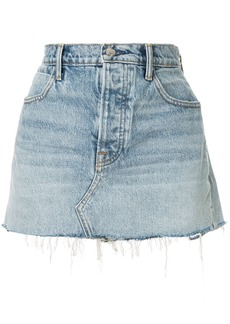 Alexander Wang Zip Snip denim skirt
