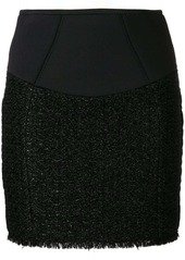 Alexander Wang zipped mini skirt