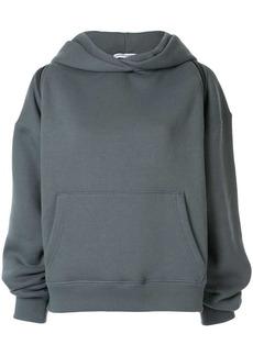 Alexander Wang zipped shoulder hoodie