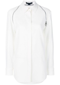 Alexander Wang zipper detail button down shirt