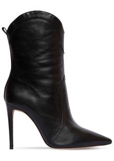 Alexandre Birman 100mm Ester Leather Cowboy Boots