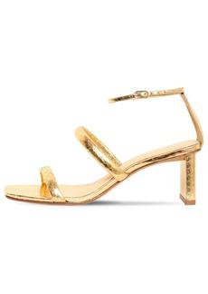 Alexandre Birman 50mm Snakeskin Leather Sandals