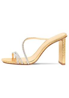 Alexandre Birman 85mm Embellished Snakeskin Sandals