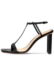 Alexandre Birman 85mm Leather T-bar Sandals