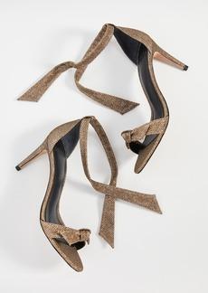 Alexandre Birman Clarita 75mm Fabric Sandals