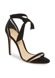 Alexandre Birman Clarita Clear Ankle Tie Sandal (Women)