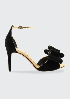 Alexandre Birman Grace 85mm Bow Stiletto Sandals