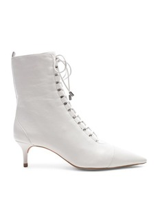Alexandre Birman Leather Millen Lace Up Ankle Boots