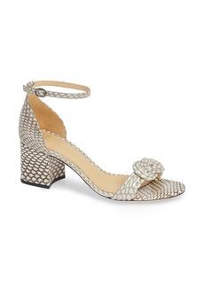 Alexandre Birman Vicky Genuine Snakeskin Sandal (Women)