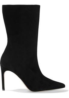 Alexandre Birman Woman Cuba Suede Boots Black