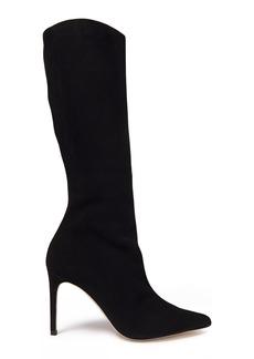 Alexandre Birman Woman Porto Suede Knee Boots Black