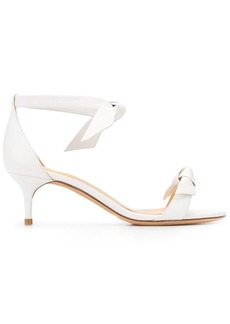 Alexandre Birman bow-fastened low heel sandals