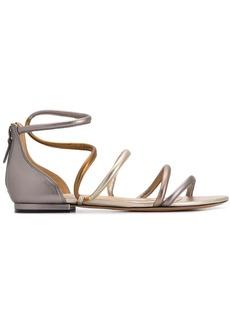 Alexandre Birman flat strappy sandals
