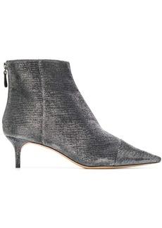 Alexandre Birman metallic ankle boots