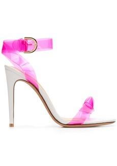 Alexandre Birman two tone high heel sandals