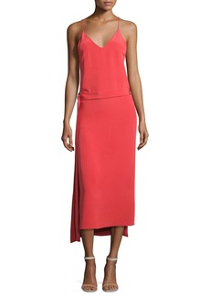 Alexis Analiai Wrap Slip Dress