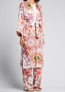 Alexis Georgiana Tie-Dye Belted Robe