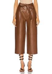 Alexis Roy Vegan Leather Pant