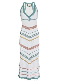 Alexis Allia Pointelle Knit Midi Dress