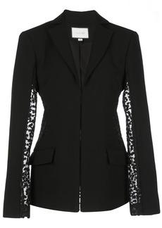 Alexis Amrita sheer-panels blazer