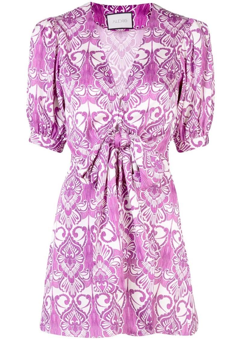 Alexis Bardot mini dress