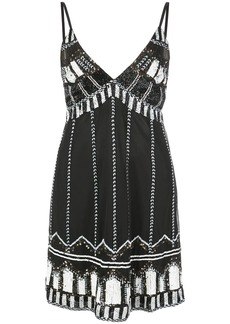 Alexis bead embroidered dress