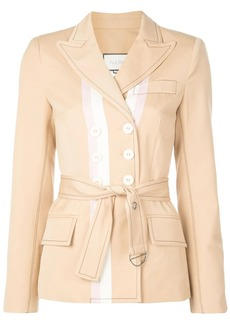 Alexis belted fitted jacket