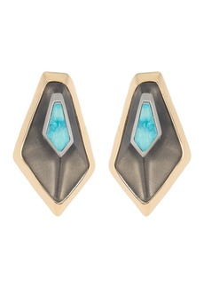 Alexis Bittar 10K Gold Floating Kite Clip-On Earrings